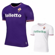 2017 2018 Fiorentina shirts Leisure Best Quality 2017 Fiorentina T-shirt Casual shirts free shipping(China)