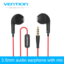 Vention 3.5mm Aux Audio Dolphin Earphone Headphone Headset For XiaoMI M2 M1 Samsung iPhone 4 5 6 MP3 MP4 With Remote And MIC
