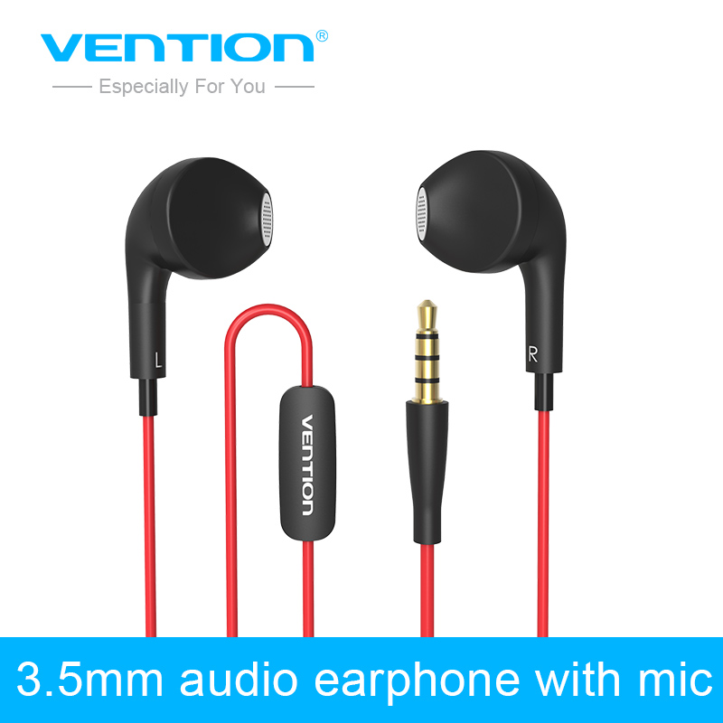 Vention 3.5mm Aux Audio Dolphin Earphone Headphone Headset For XiaoMI M2 M1 Samsung iPhone 4 5 6 MP3 MP4 With Remote And MIC<br><br>Aliexpress