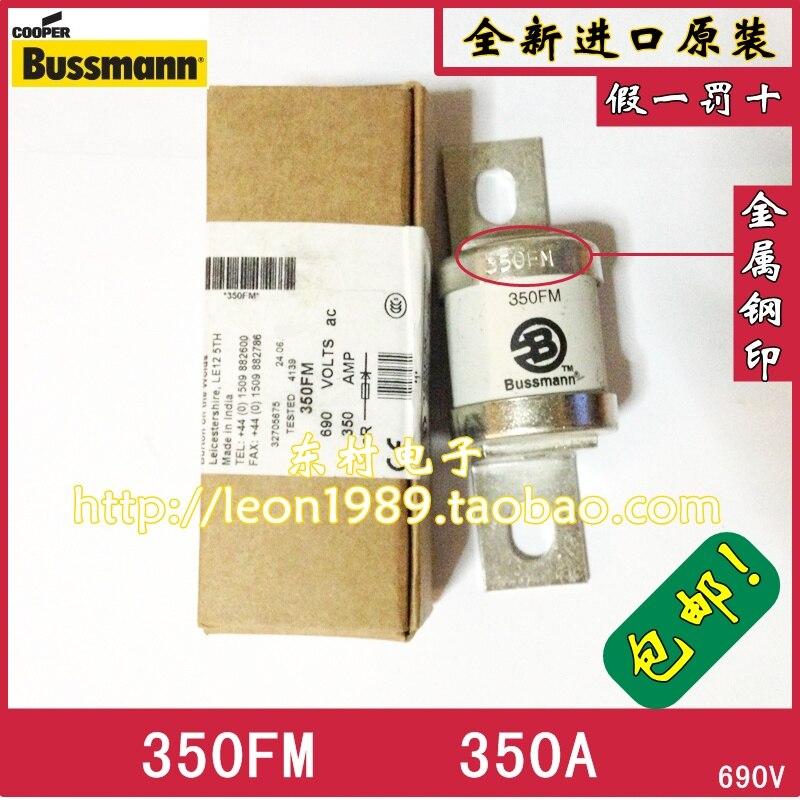 [SA]United States BUSSMANN Fuses BS88: 4 fuses Fuse 350FM 350A 690V 350FM--3PCS/LOT<br>