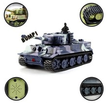 Children's Day Gift Great Wall 2117 RC Battle Tank 14CH 1:72 Remote Control Simulated Panzer Mini Tank For Children Toys Gift