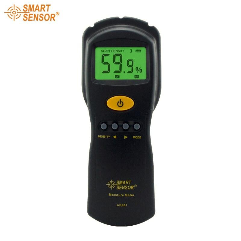 SMART SENSOR AS981 Digital Moisture Meter Measure Contented Moisture Fast and Precise Microwave Measurement<br><br>Aliexpress