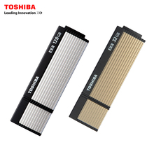 TOSHIBA USB flash drive 64GB  USB 3.0 Real Capacity R:222M/s V3OS2 32GB 16G USB flash drive quality Memory Stick 128G Pen Drive