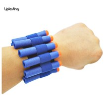 Toy Gun Wristband For Nerf Gun softbullet Gun Can hold soft bullets professional player Outdoor game equipment in arena(China)