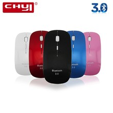 CHYI Bluetooth 3.0 Mouse Ergonomic 2.4G 1000/1200/1600DPI Ultra-thin Super Slim Wireless 3D Bluetooth BT Mice For PC Mini Laptop(China)