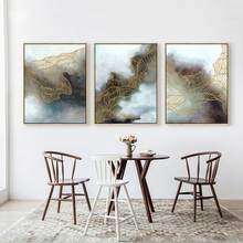 Abstract Fish Net Canvas Painting Wall Art Picture Home Wall Decor Living Room Art Poster no Frame Prints