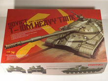 MENG TS-018 1/35 Scale soviet T-10M heavy tank Plastic Model Building Kit(China)