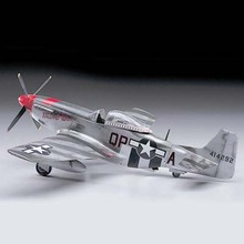 Assembled Aircraft Model Kyohko Hasegawa 08055 1/32 WWII P51D American Mustang Red Nose Limited Edition