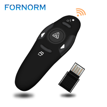 Wireless Presenter with Red Laser Pointers Pen USB RF Remote Control Page for Turning PPT Powerpoint Presentation