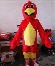 Red chicken mascot costume adult size chicken cartoon costume Party fancy dress factory direct sale.jpg