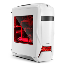 New Segotep Warship EVA Mid Tower Gaming Computer Case Support ATX M-ATX ITX Motherboard Tool-free SSD HDD and CD Installation(China)