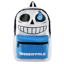 Hot Game Undertale Backpack School Bag Cosplay Sans Backpacks Unsiex Character Anime Bag Bookbag