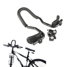 Bicycle Relaxation Handlebar Aluminum Alloy Triathlon Aero Rest Handlebar Road Mountain Bike Parts Black Cycling Handle Bars