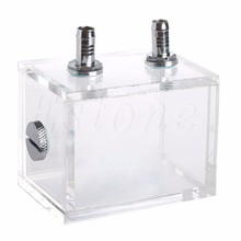 New 200ML Acrylic Liquid Water Cooled Brushless Pump Tank For CPU Water Cooling C26