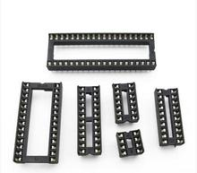 45pcs Assorted DIP IC Sockets 8,14,16,18,20,24,28,32,40