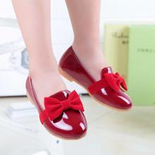 Buy Girls Shoes New Arrive Big Bowknot Black Red Eur26-30 Children Casual Shoes Patent Leather Kids Sandal Girl Shoe for $9.80 in AliExpress store
