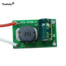 Tanbaby 5pcs/lot 10W Led driver 850~ 900mA Power Supply For 9W 10W LED Light Bulb Lamp Input 12V~24V AC/DC-DC Output 5V~12V(China)