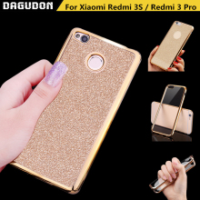 Xiaomi redmi 3S case redmi 3 pro 3 S case cover Bling Glided Powder case for xiaomi redmi 3S Prime 3 Pro 3 S shining Glitter