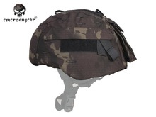 Emersongear Hunting Airsoft Mich Helmet Cover MICH 2000 Helmet Cloth Combat Gear Multicam MCBK Black(China)