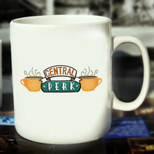 New Friends Ceramic Coffee Mug White Color Or Color Changed Cup Central Perk Coffee Time ---Loveful