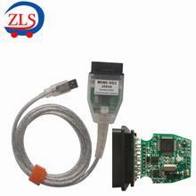 MINI VCI for TOYOTA Single Auto Diangnostic Cable V12.10.019 Support for Lexus/ Toyota TIS OEM Diagnostic Software Free Shipping