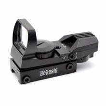 20mm Rail Hunting Airsoft Optics Scope Holographic Red Dot Sight Reflex 4 Reticle Tactical Gun Accessories Well Sell