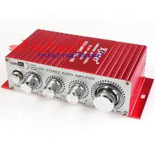 by dhl or ems 10 sets Kinter 12V MA180 Mini USB Port Car Motorcycle HiFi Auto Power Audio Amplifier(China)