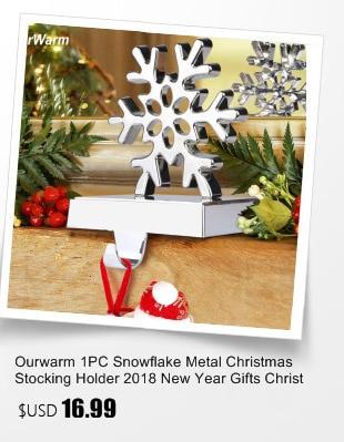 Ourwarm 18 DIY Felt Christmas Tree Pendant Drop Ornaments New Year Gift for Children Kids Door Wall Hanging Xmas Decoration 19