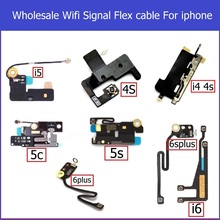 10pcs Wifi Signal Antenna Flex Cable for iPhone 4 4s 5 5S 5c 6 plus Net work connector antenna wifi flex cable replacement