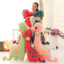 Dinosaur Plush Toy Giant Stuffed Animal Dragon Doll Gift For Girlfriend & Children Good Quality