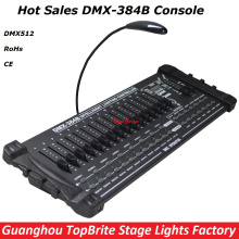 2017 New Factory Price DMX512 Controller Professional DMX 384B Console Stage Light Disco DJ Club Party Lights Audio Equipments(China)