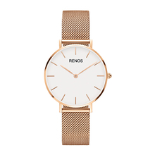 RENOS DW Quartz Watchwrist Women Top Luxury Brand Fashion Stainless Steel Watches Gift Watch kobiety zegarek uomo reloj Clock