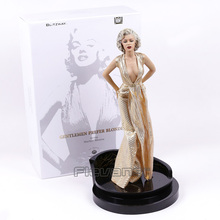 Gentlemen Prefer Blondes Marilyn Monroe 1/4 Scale Statue Figure Collectible Model Toy 43cm EMS Free Shipping