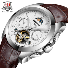 BINKADA 2017 Watches Men Luxury Brand Tourbillon Mechanical Watch Automatic Business Sport Casual Wristwatch relogio masculino(China)