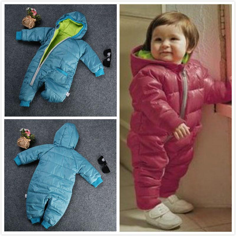 Winter Baby Girl Boy Kid Toddler Snowsuit Coat Jacket Jumper  1PCОдежда и ак�е��уары<br><br><br>Aliexpress