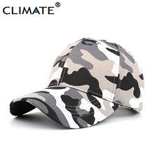 1808d07d289 CLIMATE 2018 Cool Dancer Army Camouflage Baseball Caps Youth Adult Meisai  Disguise Military Fans HipHop Sport Hunting Caps Hats