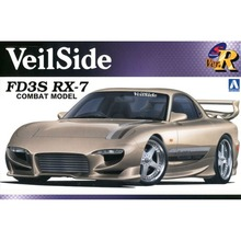 OHS Aoshima 00722 1/24 VeilSide FD3S RX7 Combat Model Scale Assembly Car Model Building Kits