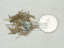 NIDALE model The Special copper nail  Not grind spikes wooden boat parts model accessories 160 pcs/bag