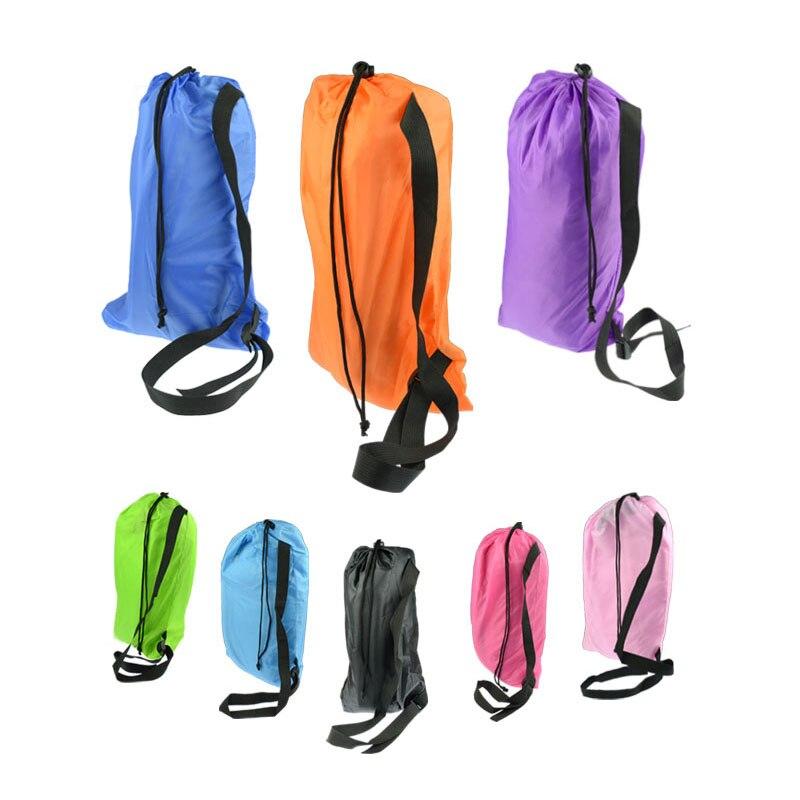 Ленивая сумка Laybag кладет спальный мешок сумки быстро надувной Camping Air Sofa, спя банановый бездельник надувного матраца мешка зала кровати пляжа