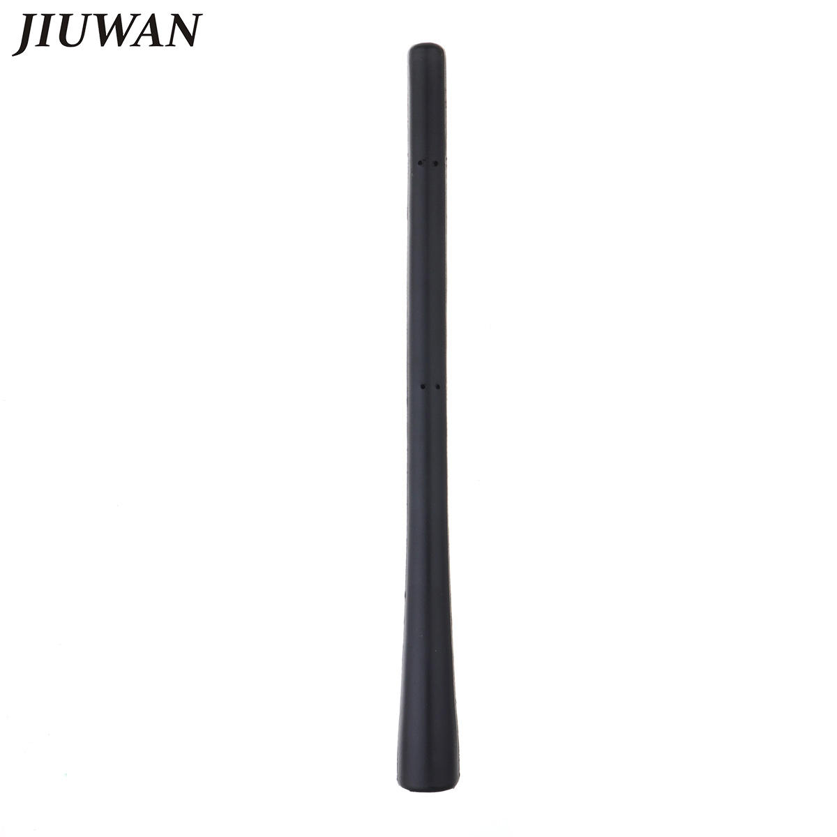 Qii lu SI-AT14036 Antena de antena universal de aleta de tibur/ón para autom/óvil antena de se/ñal de radio AM//FM de techo negra
