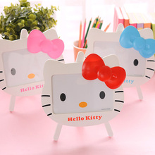 6 inch  Hello kitty photo frame  baby photo frame cartoon cat picture frame baby gift home decoration