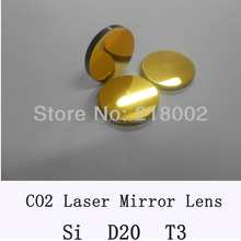 Si Co2 laser mirror 20mm diameter, thickness 3mm