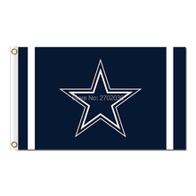 Dallas Cowboys Flag Star World Series 2016 3ft X 5ft Premium Banner Team Dallas Cowboys Jersey Flag Football Sport Cowboy(China)