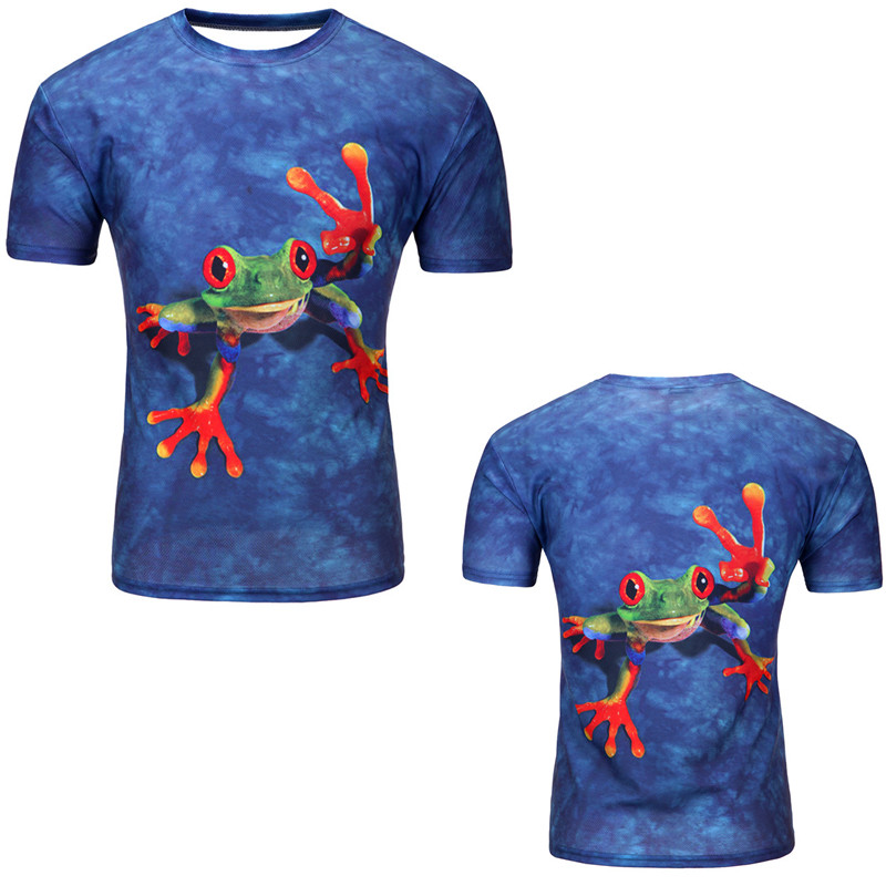 12 Color 3d print Lightning cat t shirt 8