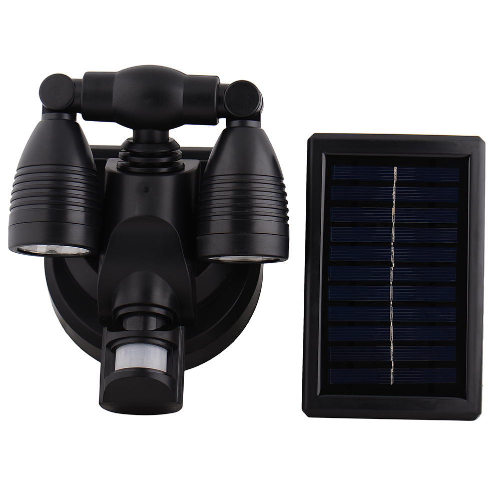 38LED Solar Motion Sensor Night Light Outdoor Double-head Led Waterproof Fence Wall Garden Hallway Porch Deck Improve Security<br><br>Aliexpress