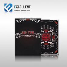 [Red poker] the United States imports of Tune EPCS red card playing card Magic DecK Props(China)