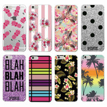 Sexy Sparkle Pink Pineapple Dog Floral Stripe Heart Soft Phone Case Fundas For Samsung Galaxy J5 A3 A5 S5 S6 S7 edge