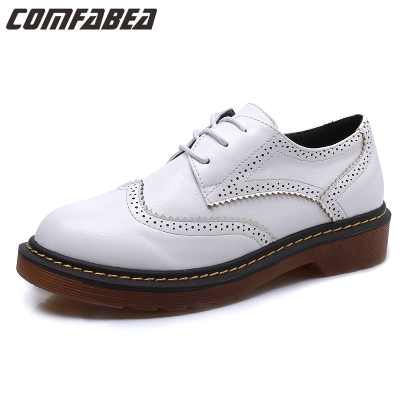 Plus size 34~41 2017 Fashion Vintage Oxford Shoes For Women Low Heel British Style Ladies Shoes Woman Casual Shoes HO777-1<br><br>Aliexpress