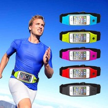 Sport Gym Waterproof Waist Pouch General Phone Case For huawei p9 lite p9 p8 honor 8 5c 5a oneplus 3 one leeco le 2 Cover