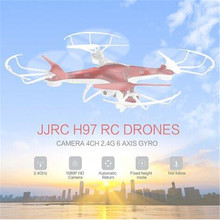 JJRC Mini H97 Helicopter Outdoor  Remote Control plane  Camera RC Quadcopter One Key to Return Aircraft 2.4G 6-axis Gyro